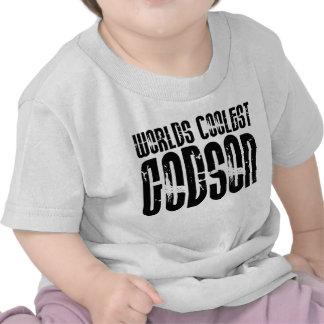 Baptism Christening Parties  Worlds Coolest Godson Tshirt