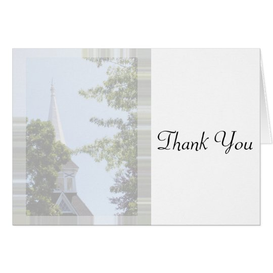 Baptism-communion-Confirmation Thank You card