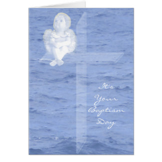 Baptism Day Greeting Card