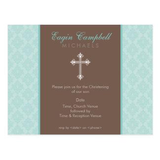 BAPTISM INVITE :: oh so beautiful 4 Postcard