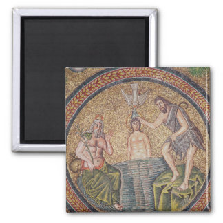 Baptism of Christ by John the Baptist Magnet