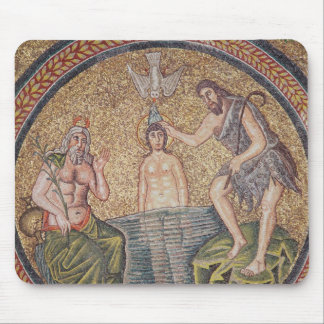 Baptism of Christ by John the Baptist Mouse Mat
