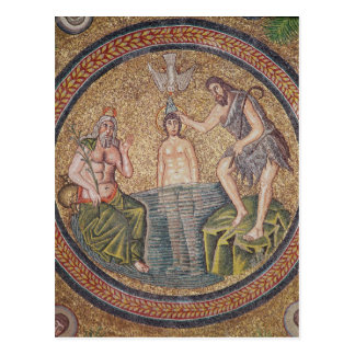 Baptism of Christ by John the Baptist Postcards