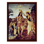 Baptism Of Christ By Sarto Andrea Del Post Cards