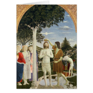 Baptism of Christ Greeting Card