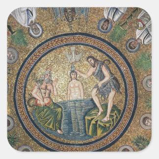 Baptism of Christ Square Sticker
