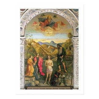 Baptism of Christ, St. John Altarpiece Postcard