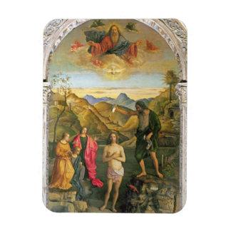 Baptism of Christ, St. John Altarpiece Rectangular Photo Magnet