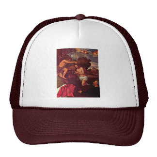 Baptism Of Christ With The Client Giovanni Ram Mesh Hats
