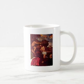 Baptism Of Christ With The Client Giovanni Ram Coffee Mugs