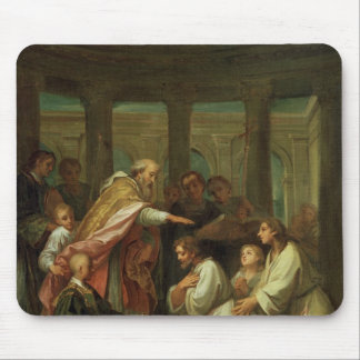 Baptism of St. Augustine Mouse Mat