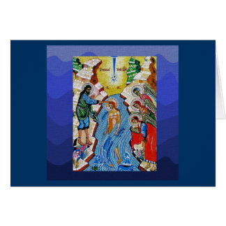 Baptism of the Lord II Greeting Card