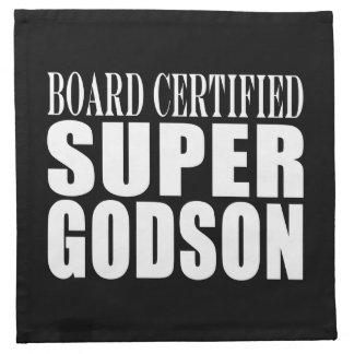 Baptism Parties : Board Certified Super Godson Napkins