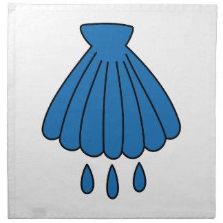 Baptism Symbol Cloth Napkins