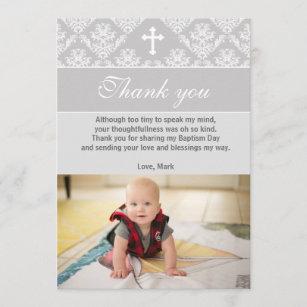 Christening Thank You Cards Zazzle Uk
