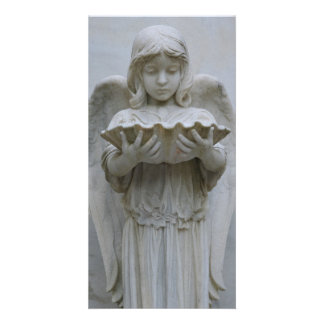 Baptismal Angel (front view) Photo Card