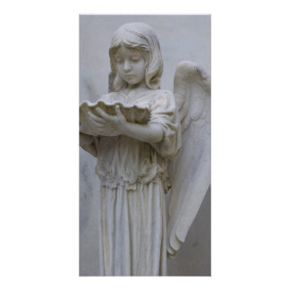 Baptismal Angel (side view) Photo Card