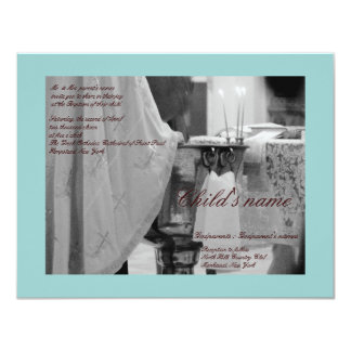 Baptismal Blue Card