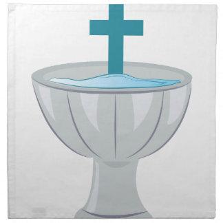 Baptismal Font Cloth Napkins