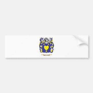 Baptiste Coat of Arms (Family Crest) Bumper Sticker