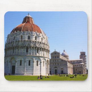 Baptistery and Pisa Tower Mouse Pad