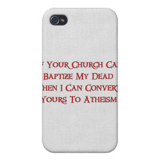 Baptizing Dead People Case For iPhone 4