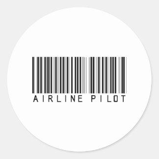 BAR AIRLINE PILOT LIGHT STICKERS