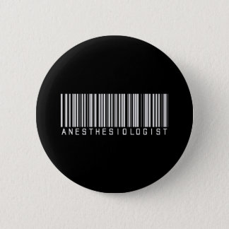 BAR ANESTHESIOLOGIST DARK 6 CM ROUND BADGE