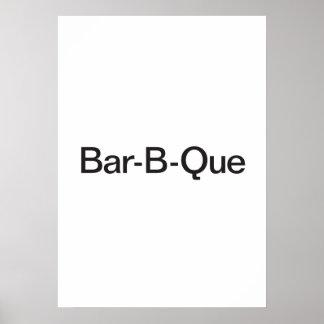 Bar-B-Que Print