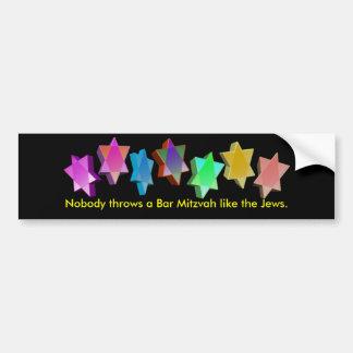 Bar/Bat Mitzvah Bumper Sticker