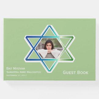 Bar Bat Mitzvah Custom Photo Guest Book