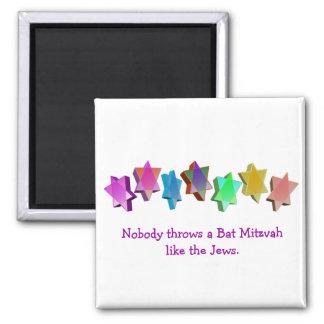 Bar/Bat Mitzvah Square Magnet