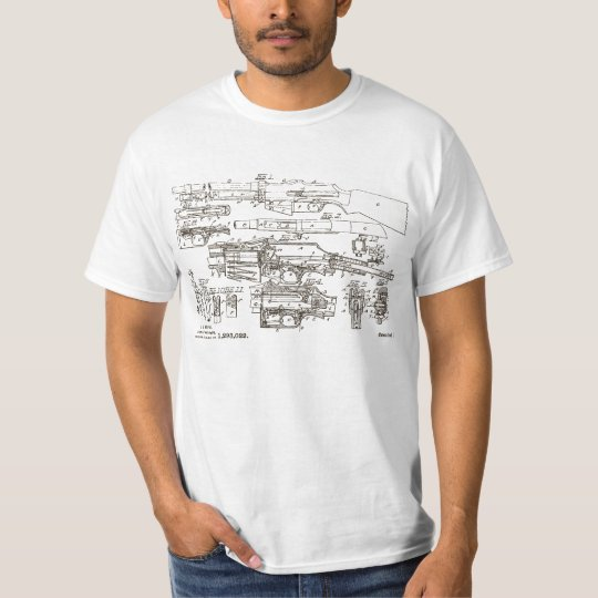 BAR Browning Automatic Rifle Patent T-Shirt
