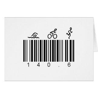 Bar Code 140.6 Card