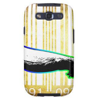 Bar Code Art Design Vector Fun Color Galaxy SIII Cases