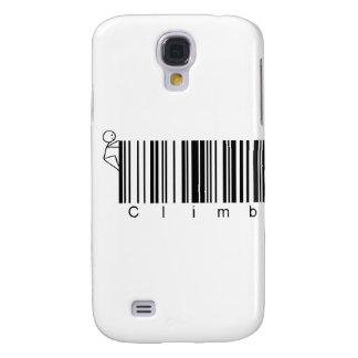 Bar Code Climb Galaxy S4 Covers