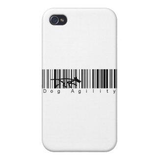 Bar Code Dog Agility iPhone 4 Cases