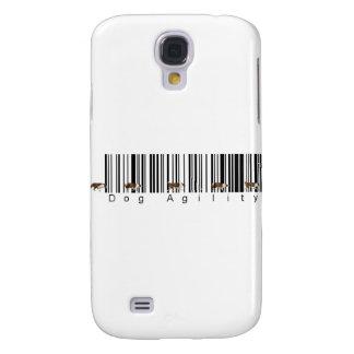 Bar Code Dog Agility weave Galaxy S4 Cover