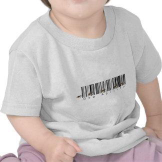 Bar Code Dog Agility weave Shirts