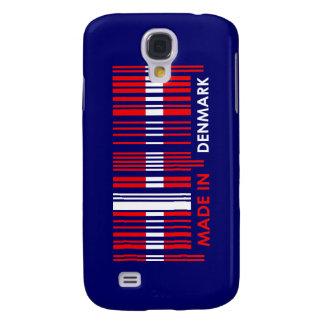 Bar Code Flag Colors DENMARK Design Galaxy S4 Case