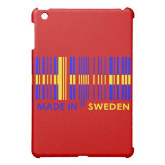 Bar Code Flag Colors SWEDEN Design iPad Mini Cover