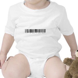Bar Code Fully Rely On God Rompers