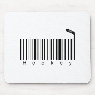 Bar Code Hockey Mouse Mat