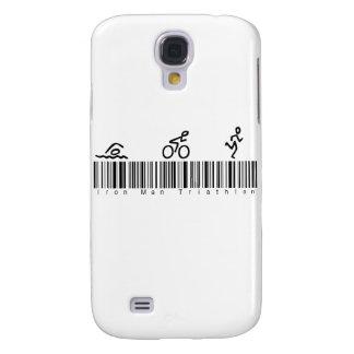 Bar Code Iron Man Tri Galaxy S4 Case