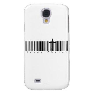 Bar Code Jesus Christ Galaxy S4 Case