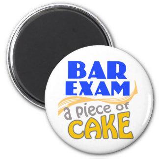 Bar Exam - Piece of Cake Magnet