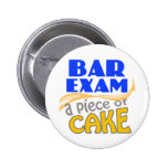 Bar Exam - Piece of Cake Pinback Button
