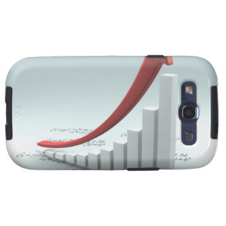 Bar graph and arrow with formula samsung galaxy SIII cases