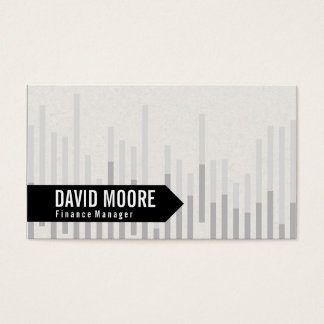 Bar Graph | Arrow Business Card