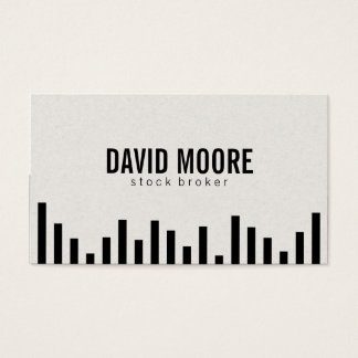 Bar Graph Business Card